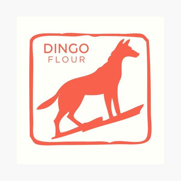 Dingo Flour Art Print