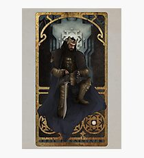 Art Nouveau Thorin Oakenshield Photographic Print