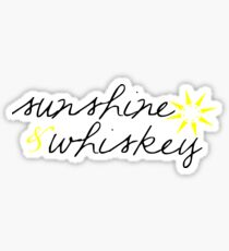 Sunshine & Whiskey Sticker