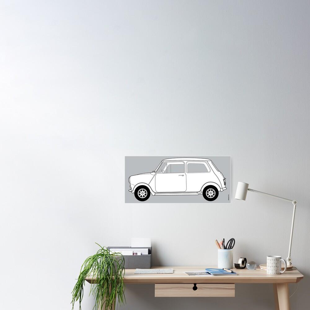 Morris Mini Cooper Poster