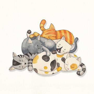 Cat Nap (Siesta Time) by Timone