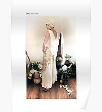 1930s bias gown Poster