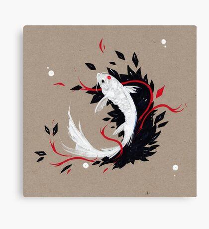 KOI RIBBONS Canvas Print