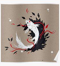 KOI RIBBONS Poster