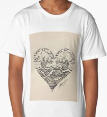 2 ships Long T-Shirt