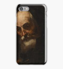 Attributed to Jusepe de Ribera, called Spagnoletto SAINT PAUL, BUST LENGTH iPhone Case/Skin