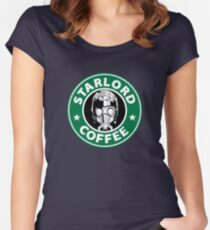 STARLORD COFFEE Women's Fitted Scoop T-Shirt