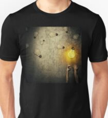 light bulbs juggling Unisex T-Shirt