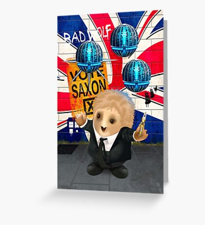 The Cospose - VOTE SAXON Greeting Card