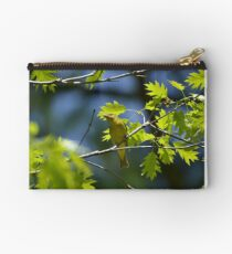 Female Scarlet Tanager Zipper Pouch