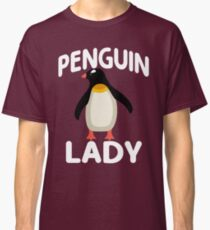 I Am A Penguin Lady Classic T-Shirt