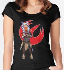 Ahsoka Tano-2 Women's Fitted Scoop T-Shirt