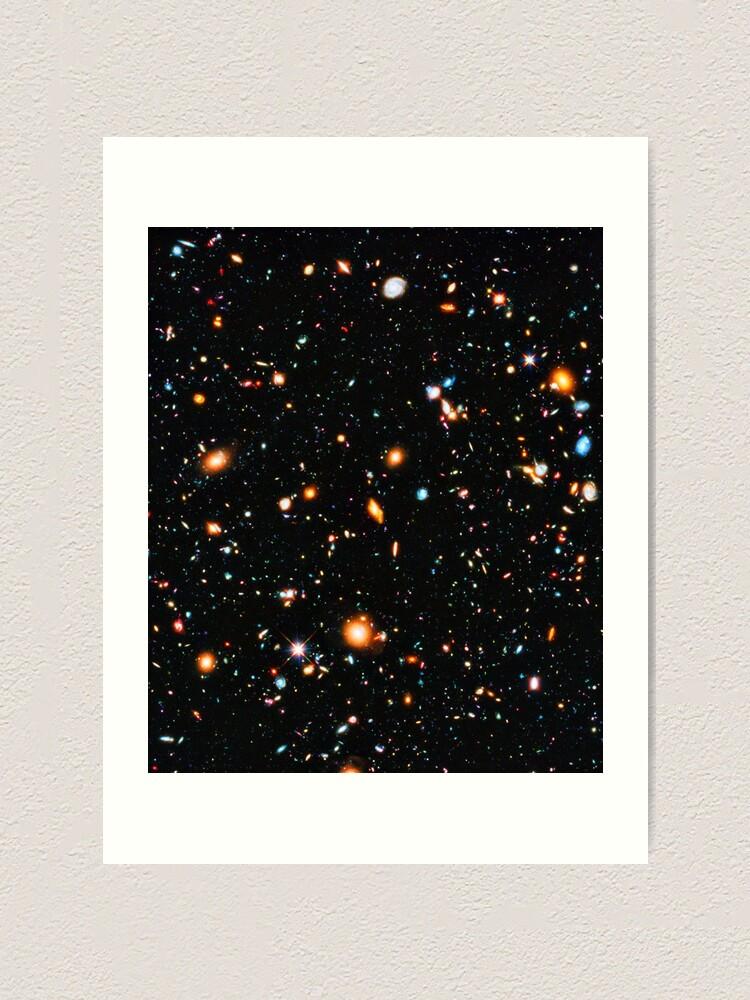 Alternate view of Hubble Extreme Deep Field Art Print