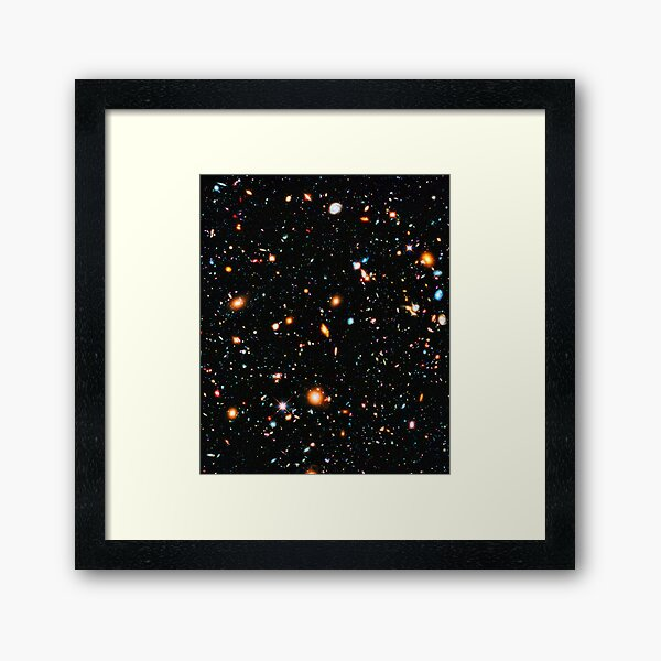 Hubble Extreme Deep Field Framed Art Print
