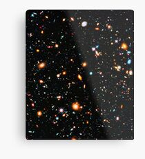 Hubble extremes tiefes Feld Metalldruck