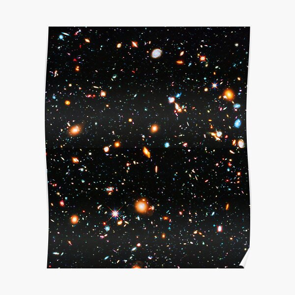 Hubble Extreme Deep Field Póster