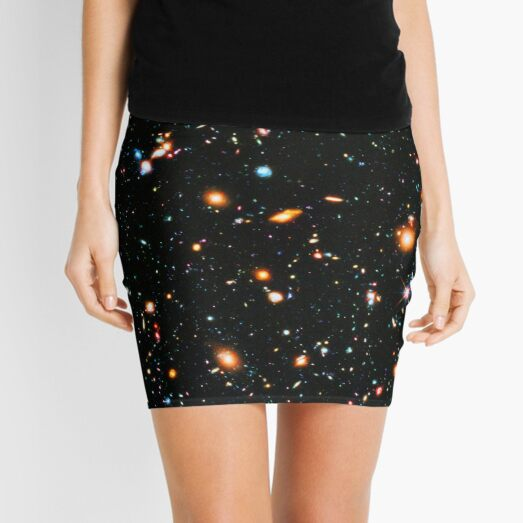 Hubble Extreme Deep Field Mini Skirt