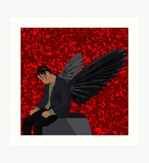 Travis Scott - Angel (Goosebumps) Art Print