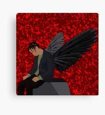 Travis Scott - Angel (Goosebumps) Canvas Print