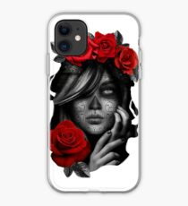 Day Of The Dead Woman iPhone Case