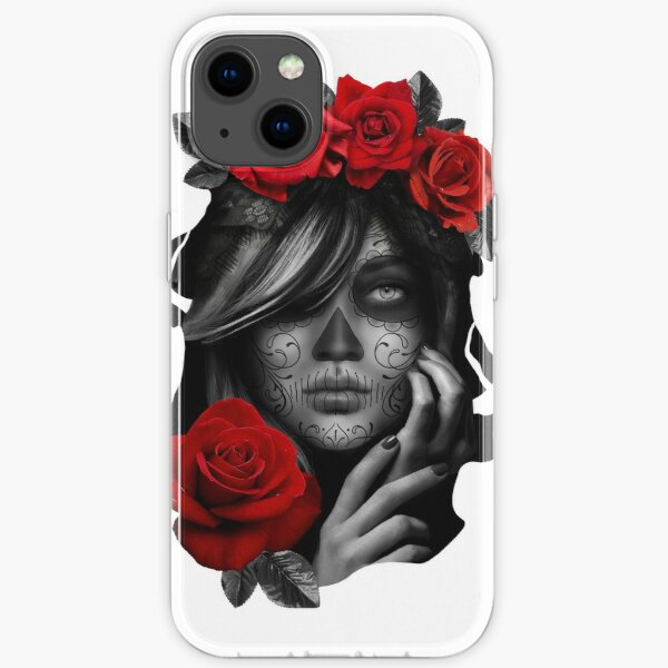 Day Of The Dead Woman iPhone Soft Case