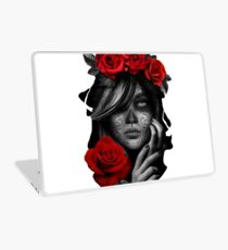 Day Of The Dead Woman Laptop Skin
