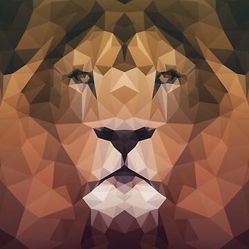 Low Poly Lion by elmerbets