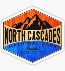 NORTH CASCADES NATIONAL PARK WASHINGTON MOUNT BAKER HIKING CAMPING CLIMBING Sticker