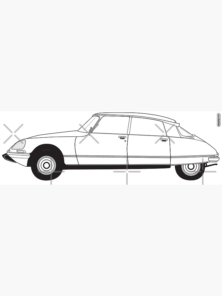Citroën DS by thedrumstick