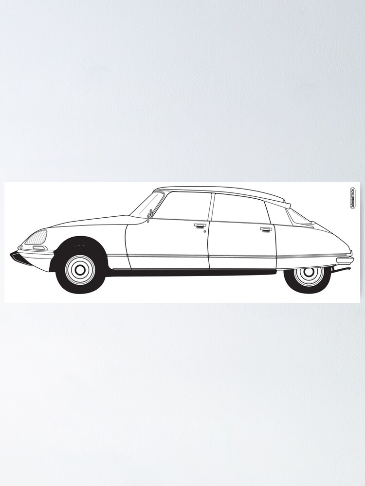 Alternate view of Citroën DS Poster