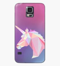 Unicorn low poly Case/Skin for Samsung Galaxy