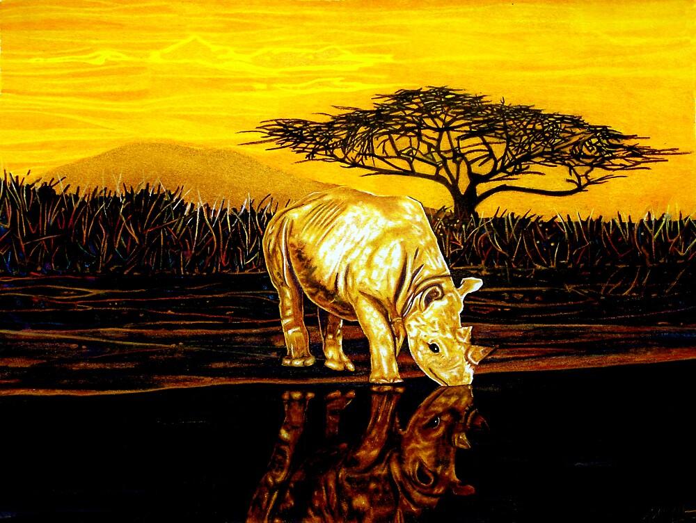 Rhinosaurus by Anthony Middleton
