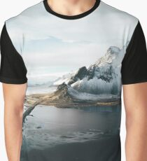 Iceland from above - Landscape Photography Graphic T-Shirt