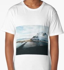 Iceland from above - Landscape Photography Long T-Shirt