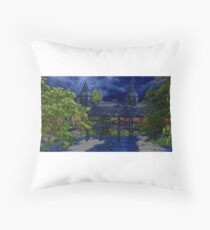 The Poet & Butterfly Promise Bridge Throw Pillow