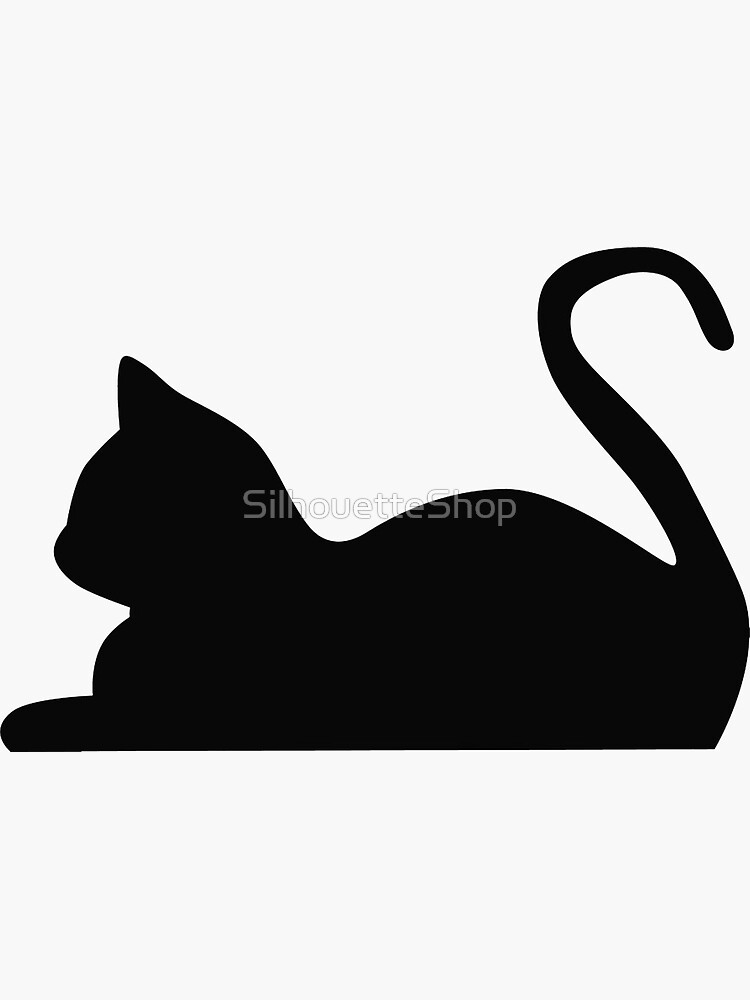 Cat by SilhouetteShop