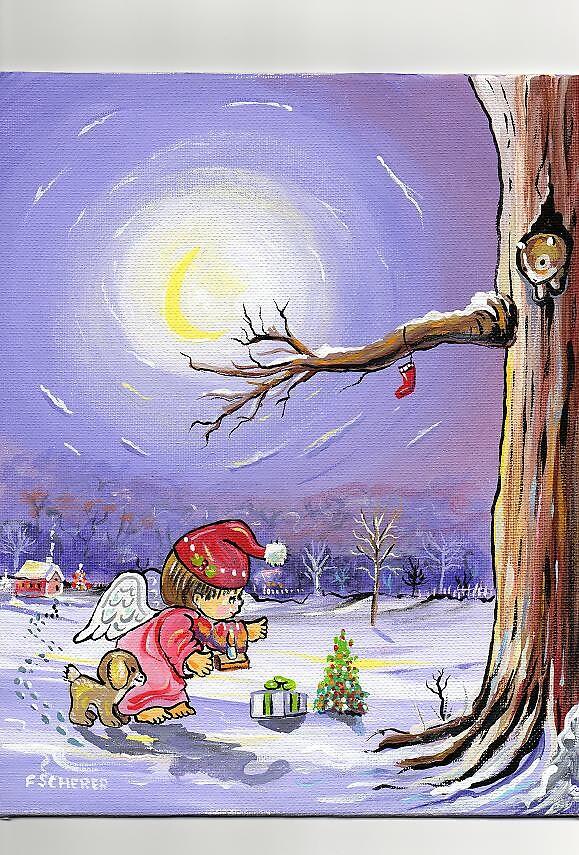 CHRISTMAS ANGEL by fredscherer