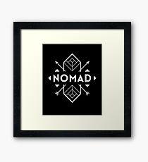 Nomad Tiki Framed Print
