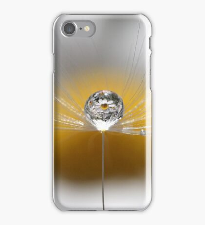 A drop full of daisies iPhone Case/Skin