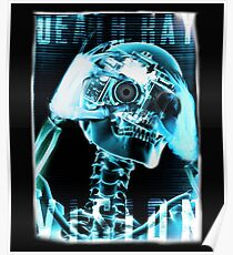 Skeleton, Death Ray Vision, Poster