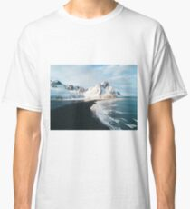 Iceland beach at sunset - Landscape Photography Classic T-Shirt