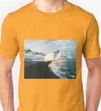 Iceland beach at sunset - Landscape Photography Unisex T-Shirt