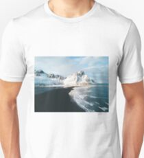 Iceland beach at sunset - Landscape Photography Unisex T-Shirt