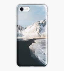 Iceland beach at sunset - Landscape Photography iPhone Case/Skin