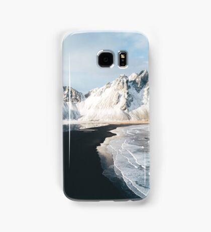 Iceland beach at sunset - Landscape Photography Samsung Galaxy Case/Skin