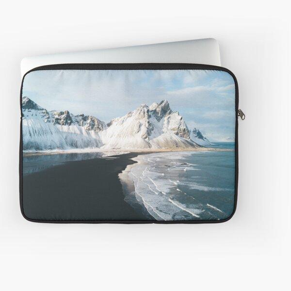 Iceland beach at sunset - Landscape Photography Laptop Sleeve