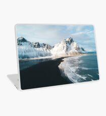 Iceland beach at sunset - Landscape Photography Laptop Skin