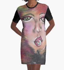 Looking at you - bride portrait Graphic T-Shirt Dress