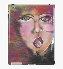 Looking at you - bride portrait iPad Case/Skin