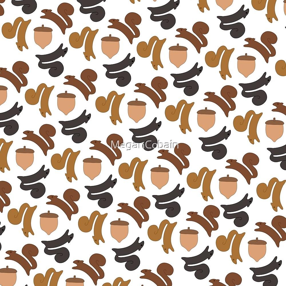 Circle Squirrels by MeganCobain